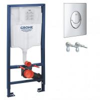 Grohe Rapid SL 38721001 Инсталляционный комплект 3 в 1 (с кнопкой 38505000)