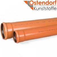 Труба SN4 наружная 110 х 1000, Ostendorf
