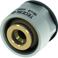 Концовка разборная 3/4, евроконус для труб 17 мм PE-RT и PE-Xc, TECEfloor 77211700